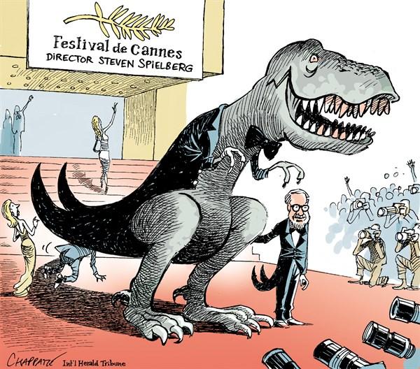 131851 600 Steven Spielberg opens Cannes cartoons