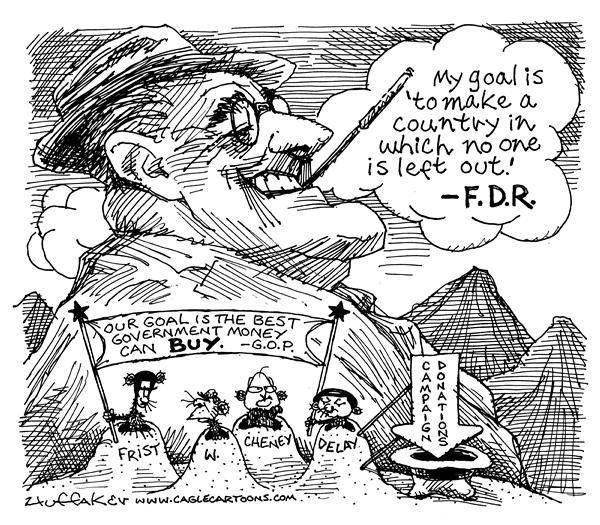 Image result for fdr cartoon