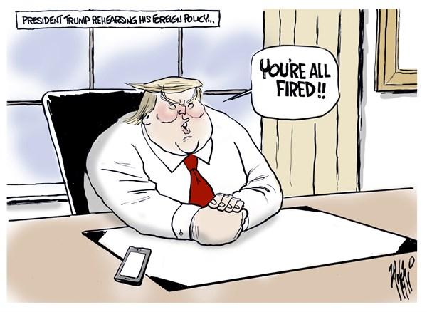Paul Zanetti - Australia - Prsident Trump - English - President, Donald, Trump, Oval, office, Foreign, Policy, 2016, election