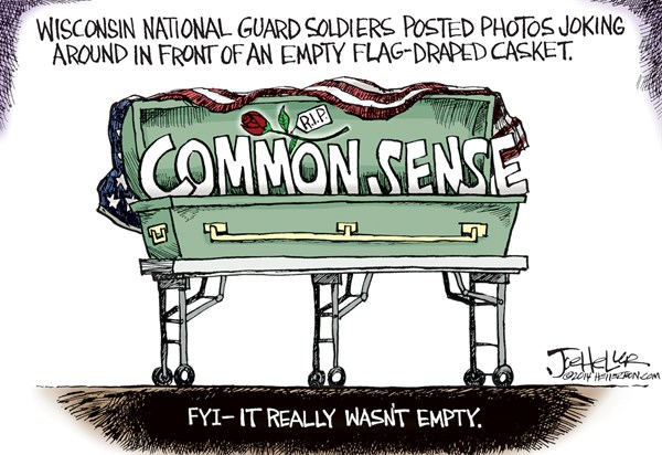 144703 600 Military Coffin cartoons