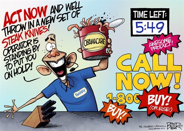 139065 600 Obamacare Salesman cartoons