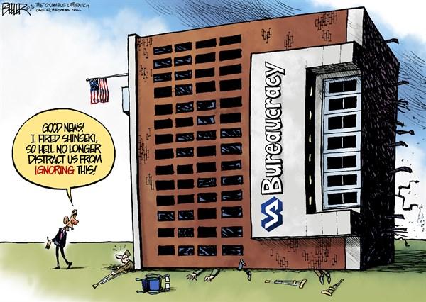 149219 600 VA Bureaucracy cartoons