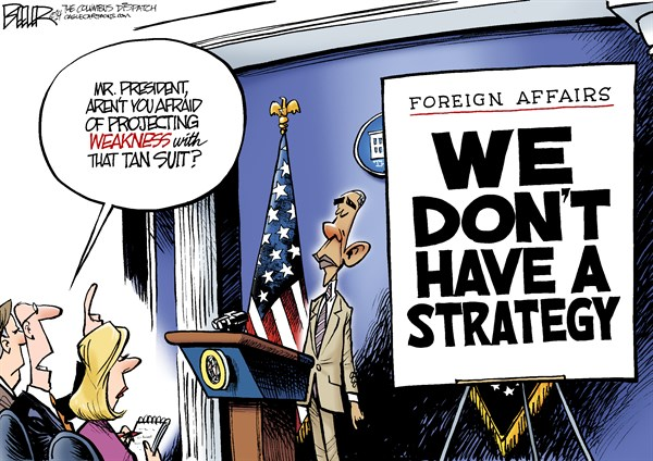 152975 600 Obama Projects Weakness cartoons