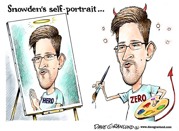 133750 600 Snowden self portrait cartoons