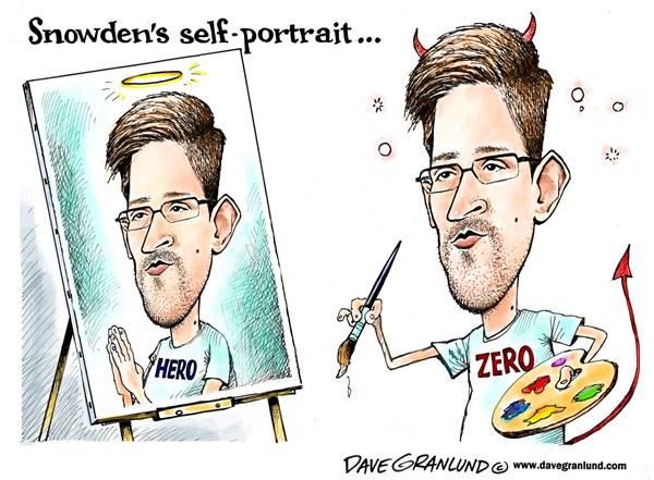 133750 600 Snowden self portrait cartoons