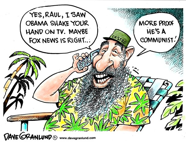 141488 600 Obama and Raul Castro shake cartoons