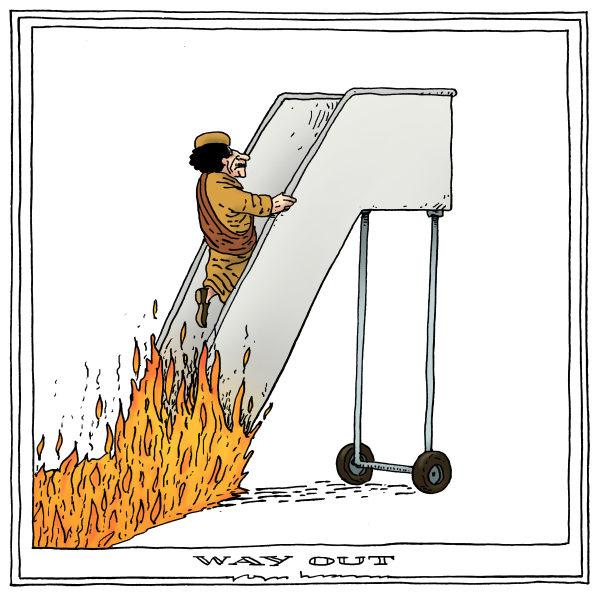Joep Bertrams - The Netherlands - way out - English - Qadhafi, revolt, crisis, sanctions