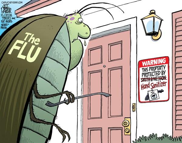 125388 600 Flu Bug Protection cartoons