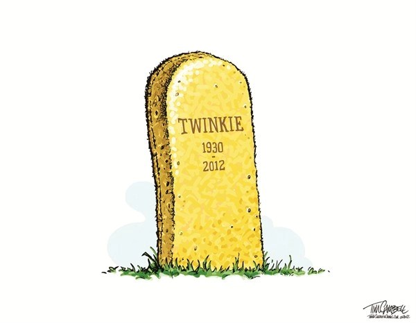 Twinkie © Tim Campbell,Indianapolis,twinkie,strike,closed,unemployed,union, hostess bankrupt