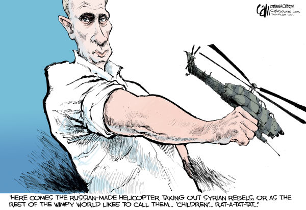 Russian Helicopter © Cardow,The Ottawa Citizen,Russia,syria,helicopter,uprising,rebels,civilians,war,civil,death,putin