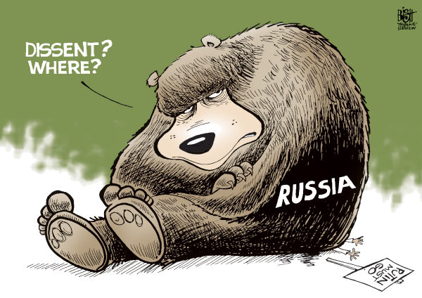 PUSSY RIOT © Randy Bish,Pittsburgh Tribune-Review,RUSSIA, HOOLAGINISM, PUSSY RIOT