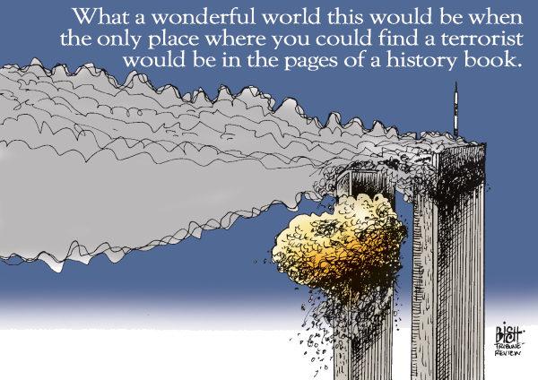 9/11 © Randy Bish,Pittsburgh Tribune-Review,9-11,9/11,TERRORIST,TERRORISTS,PLANE,ATTACK,NEW YORK,PENTAGON,SHANKSVILLE,9-11 2012