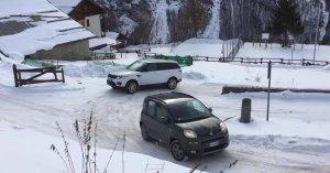 Παρακολουθήστε ένα Fiat Panda να εξευτελίζει ένα ακριβό SUV στο χιόνι (Βίντεο)