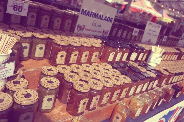 Internationella matmässan i Västerås med engelsk marmelad