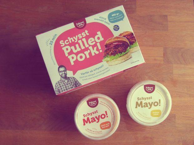 Schysst Käk pulled pork och mayo