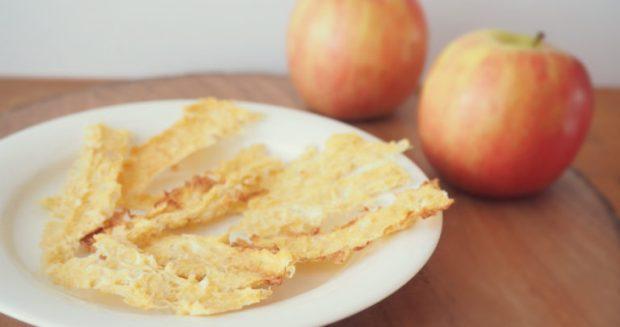 Hemmagjorda äppelremmar