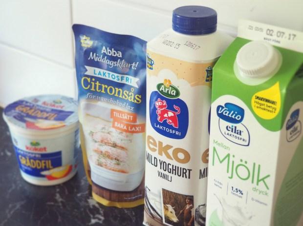 En laktosfri månad med laktosfria mjölkprodukter