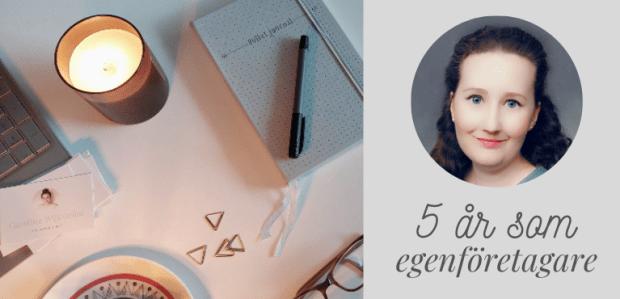 Fem år som egenföretagare och den berömda jakten efter drömjobbet