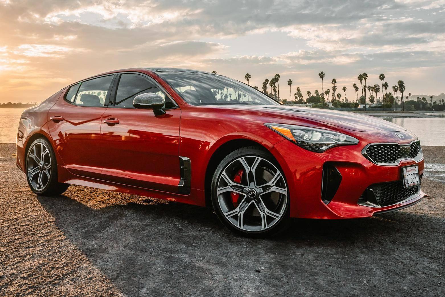 2018 kia stinger gt2 awd auction cars
