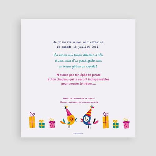 carte invitation anniversaire garcon 4 ans fille et garcon