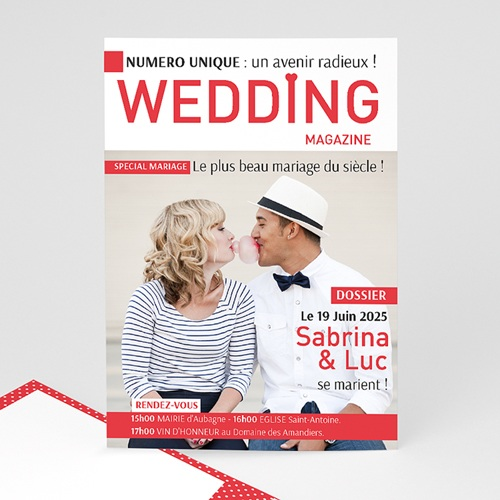 Faire Part Mariage Original - Wedding Magazine 36597