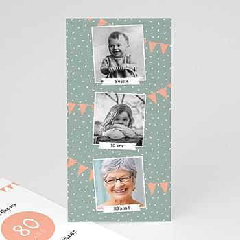 carte invitation anniversaire 90 ans