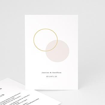carte invitation mariage echantillon