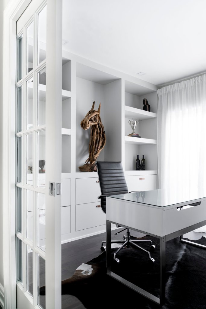 Home office by Gioia Interiors' Sarah Sandeman