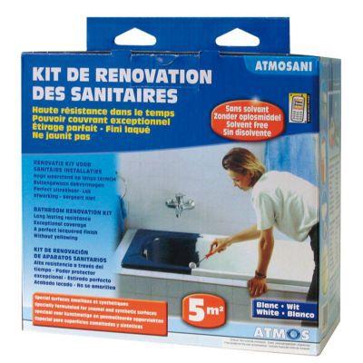 kit de renovation des sanitaires atmosani castorama