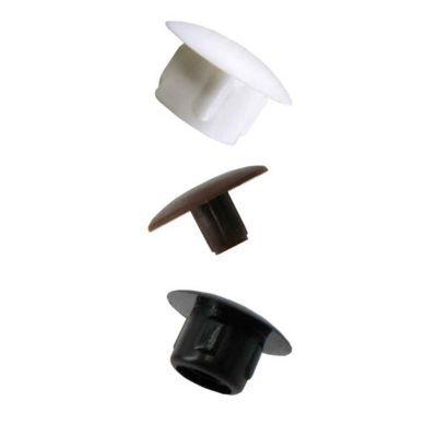 16 Obturateurs Cache Trous Plastique Blanc 10 Castorama
