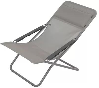bain de soleil en aluminium batang gris