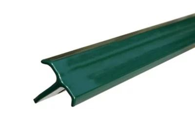 Poteau En T Vert H 1 M Castorama