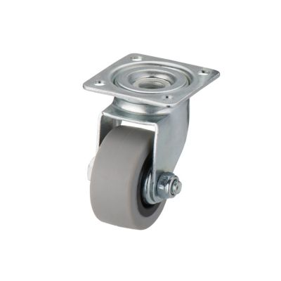 Roulette Fixe A Platine Fixe O40 Mm Charge Max 20 Kg Castorama