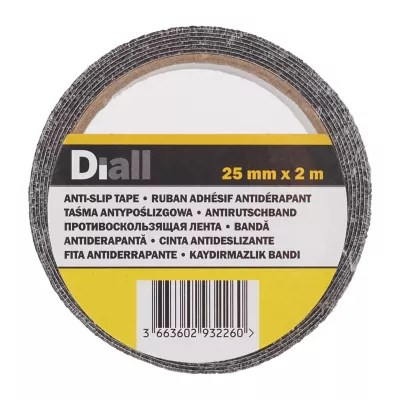 Adhesif Antiderapant Diall Noir 2 M X 25 Mm Castorama