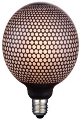 Ampoule Magic Hexagonale Led Decor Noir O 20cm E27 5w 2700 K 360lm Castorama