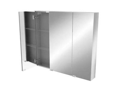 armoire de salle de bains goodhome imandra miroir l 100 x h 90 x p 15 cm
