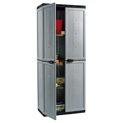 armoire resine haute 3 tablettes