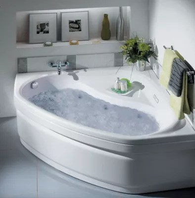 baignoire d angle balneo allibert essentia lucina 140 x 140 cm