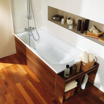 baignoire droite 170 x 80 cm form oxygen