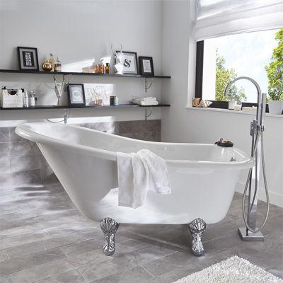 baignoire ilot 147 x 74 cm belle epoque
