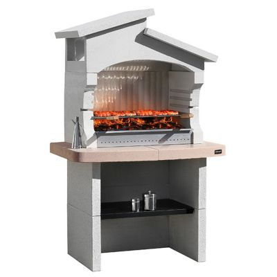 Barbecue Fixe Barbecue En Pierre Ou Beton Castorama