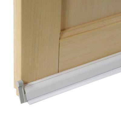 bas de porte pivotant lisse plasto blanc 93 cm