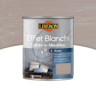 Base Effet Blanchi Lambris Et Meubles Liberon Toile De Lin Mat 1l Castorama