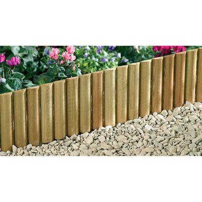 bordure a planter bois stelmet 120 x h 35 cm
