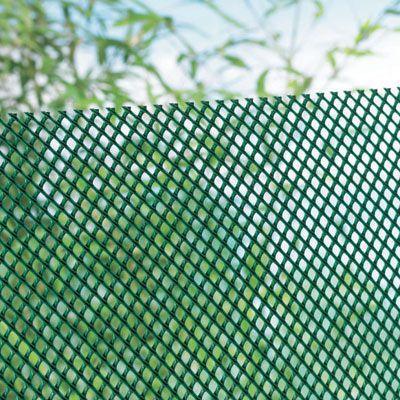 Brise Vent Polyethylene Blooma Vert 10 X H 1 5 M Castorama