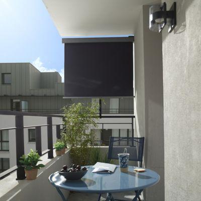 Brise Vue Retractable Pour Balcon Blooma Liso Castorama