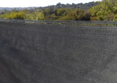 brise vue tisse blooma gris 3 x h 1 2 m