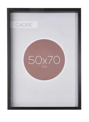 Cadre Vitrine Vide Noir 50 X 70 Cm Castorama