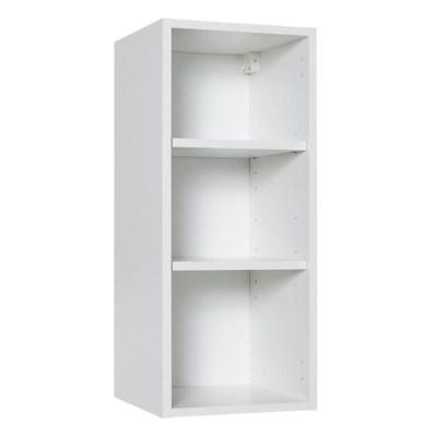 caisson haut 1 porte blanc cooke lewis 30 cm