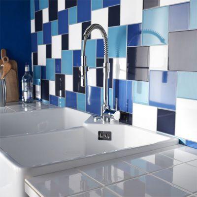 Carrelage Mur Blanc 10 X 10 Cm Glossy Castorama